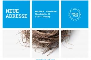 KUCK UCK Deutschland - neue Adresse in Freiburg, Rieselfeldallee 38
